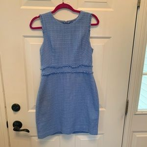 J Crew twill sheath dress